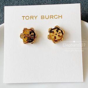 Tory Burch signature logo earrings